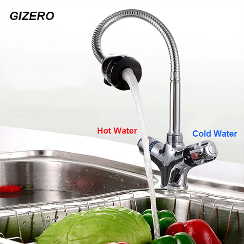 Thermostat Faucet Kitchen Pull Out Mixer Tap Bathroom Flexible Faucet Hot and Cold Deck Mounted Faucet with Swivel Spout ZR986 new pull out sprayer kitchen faucet swivel spout vessel sink mixer tap single handle hole hot and cold