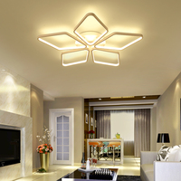 Modern Led Ceiling Lights For Indoor Lighting plafon led Square Ceiling Lamp Fixture For Living Room Bedroom Lamparas
