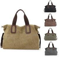 New Women's Big Capacity Canvas Outdoor Traveling Portable Sport Bag For Women Fitness Yoga Travel Handbag Sports Bag