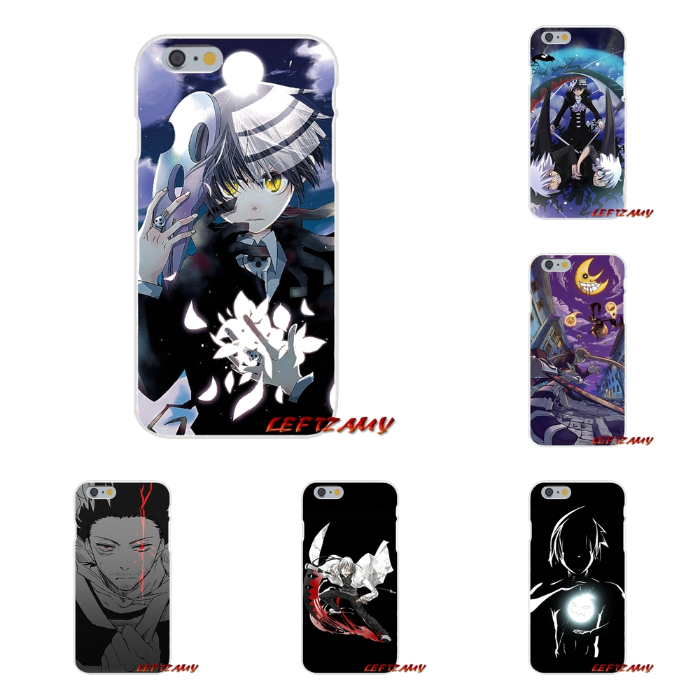 Soul Eater Anime Head Accessories Phone Cases Covers For iPhone X 4 4S 5 5S 5C SE 6 6S 7 8 Plus