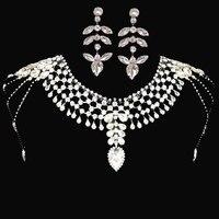 Luxury Sparkling Rhinestone Bridal Chain Trim Appliques Marriage Crystal Bride Accessories Wedding Dress Chain