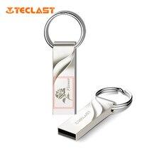 Teclast USB Flash Drive 16GB PenDrive Metallic Tremendous Mini Key Ring Reminiscence Stick clef usb Disk mini pendrive 16gb For Automobile audio Mp3