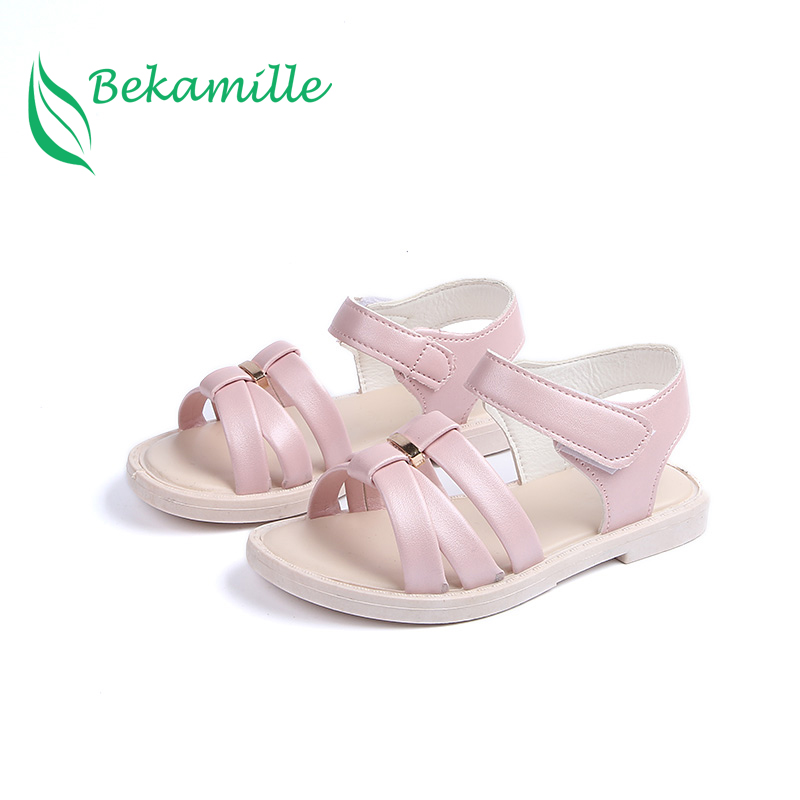 Bekamille Girls Sandals Summer Kids Shoes Fashion Solid Color Bow Open Toe Sandals Children Sandals Princess Baby Beach Shoes Bekamille Girls Sandals Summer Kids Shoes Fashion Solid Color Bow Open Toe Sandals Children Sandals Princess Baby Beach Shoes