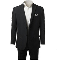 new custom Formal occasions men suit twinset jacket + pants simple fashion wedding the groom suit business working men's suit