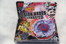 BB123 New Arrive!!Spinning Top  4D RAPIDITY METAL FUSION FIGHT MASTER COLLECTION WITH LAUNCHER NEW