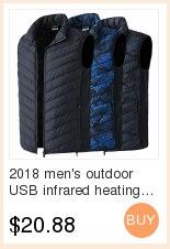 2018 ao ar livre usb infravermelho aquecimento