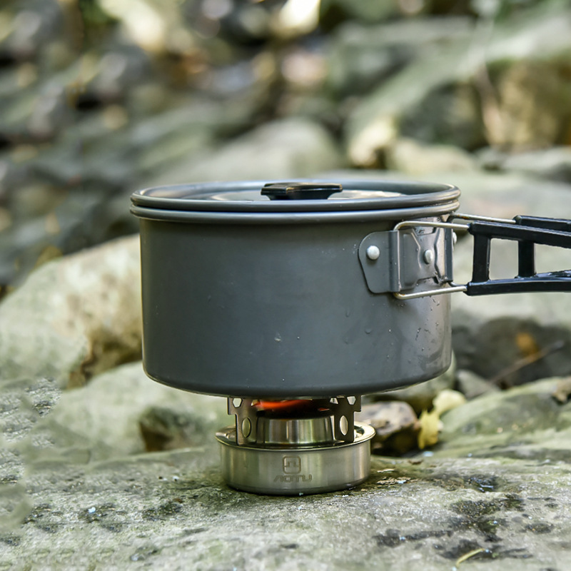 Image 4 - WOEN outdoor 201 stainless steel Camping stove Multifunction Camping cooker alcohol stove Camping stove AT6388-in Outdoor Stoves from Sports & Entertainment
