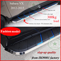 "for Subaru XV side bar XV running board side step  for 2012-2016, aluminum alloy+stainless steel+ABS, ""fashion"" model,load 300kg"