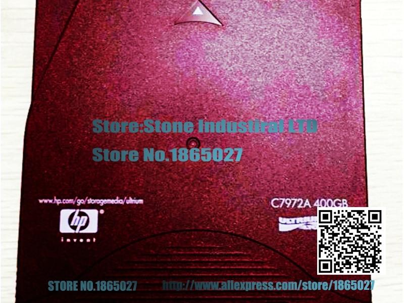 ФОТО C7972A LTO2 400GB Ultrium Tape Intelligent Tape 100% test