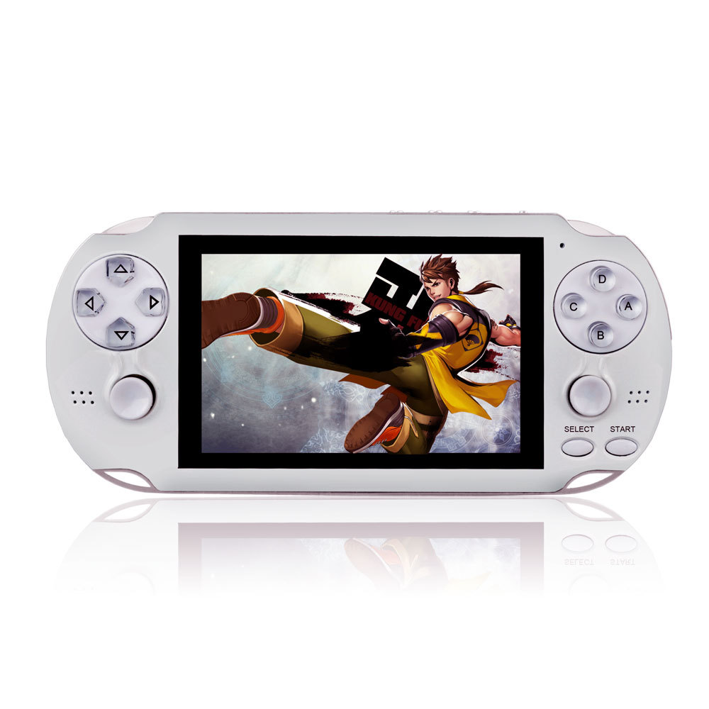 64 bit 4.3 Polegada handheld console de jogos multifunction sistema suporte cp1/cp2/neogeo/gba/gbc/gb embutido 3000 livre retro jogos