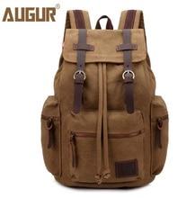 New High Quality Men Backpack Zipper Solid Men's Travel Bags Canvas Bag mochila masculina  school bags