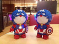 Light Cat Doraemon Iron Man Captain America Power Bank 10000mah  External  Powerbank portable battery for iphone6 6s s5 s6