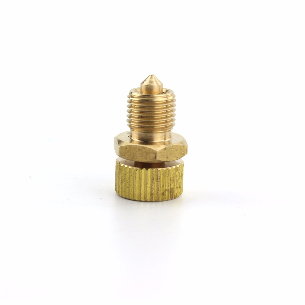 PCP Airsoft High Pressure Pump 300bar/4500psi Copper Air Bleed Screw Safety Bleeder Valve Spare Parts Replacement Kit 2PCS/1 LOT