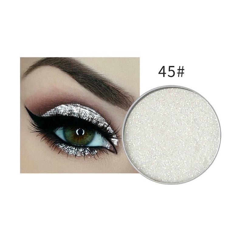 Intellective Niceface Hottest Glitter & Shimmer Makeup Women Maquiagem Body Face Glitter Powder Eye Shadow Silver Color Pigment Cosmetics Beauty & Health