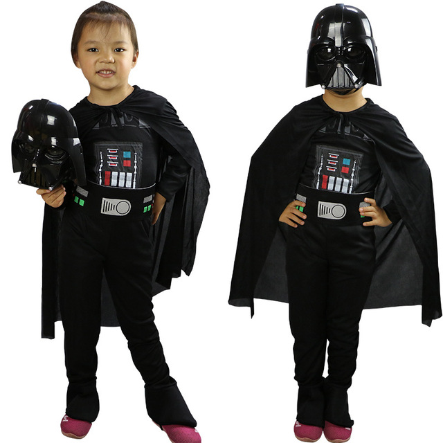 Star Wars Cosplay Lego Darth Vader Costumes Halloween Costumes for Children Fantasia Disfraces game uniforms S M L  sc 1 st  AliExpress.com & Star Wars Cosplay Lego Darth Vader Costumes Halloween Costumes for ...