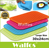 Walfos 1pc Big Size 11 6x9 5 Multifunctional Pot Mat Silicone Pot Holder Large Kitchen Silicone