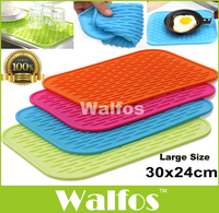 Walfos 1pc Big Size 11 6x9 5 Multifunctional Pot Mat Silicone Pot Holder Large Kitchen Silicone