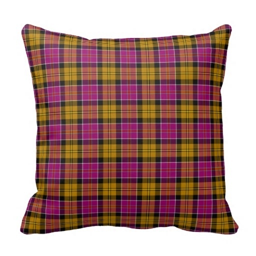 Athletic Culloden Scotland font b Tartan b font Pillow Case Size 20 by 20 Free Shipping