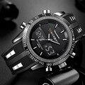 Luksusowa marka zegarki mężczyźni sport zegarki wodoodporne LED cyfrowy zegarek kwarcowy mężczyźni wojskowy zegarek na rękę zegar mężczyzna Relogio Masculino 2018