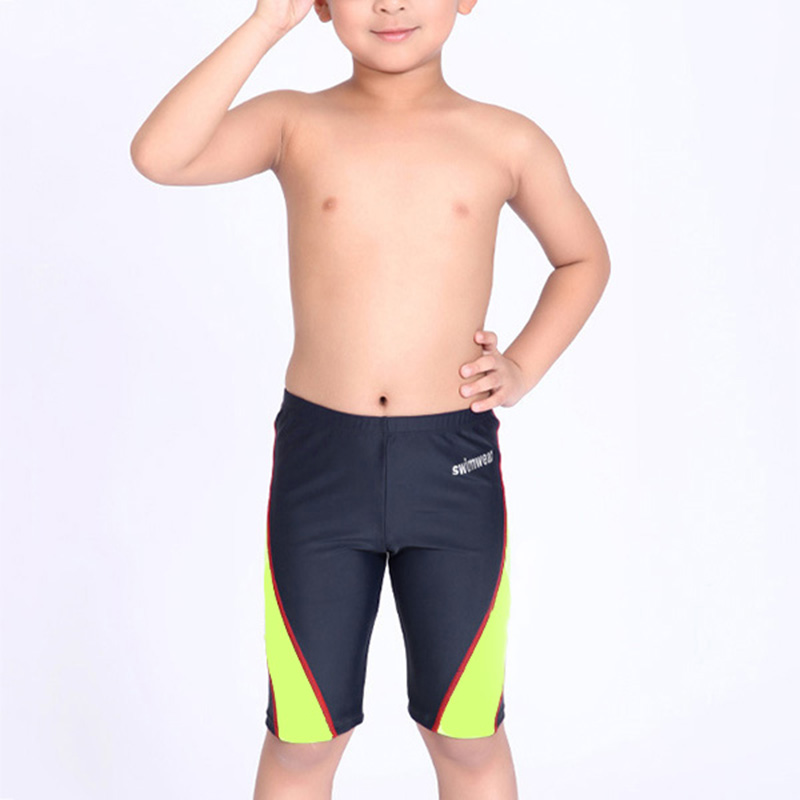 Swimming Trunks for Boys Swimsuit Swimming Shorts Children Swimwear Slim Bathing Suit Kids Boys Summer Board Shorts Swim Surf