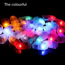 10 Pcs Mini LED Licht Lampen Glowing Ballon Led Licht Kugel Schalter Licht Bar Party Hochzeit Urlaub Garten Dekoration(China)