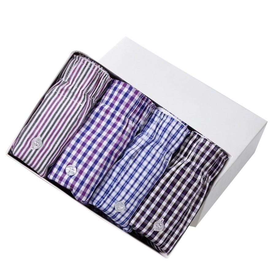 New 35 Color Men Arrow Pants Casual Fashion Brand High Quality Boxer 4pcs/lot Mens Cotton Boxers Men's Shorts Underwear