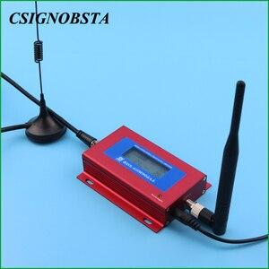 Image 4 - Cep telefonu GSM tekrarlayıcı 900MHz Mini lcd ekran GSM900 cep sinyal tekrarlayıcı güçlendirici 2G cep telefonu telefon amplifikatör toptan