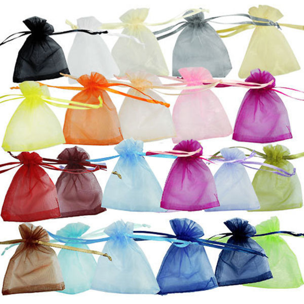300 Pieces Sheer Organza Wedding Party Favor Decoration Gift Candy