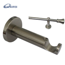 2 Pcs D20mm Curtain Rod Decorative Multifunctional bracket 8cm , Accessories Bracket for Window Decoration