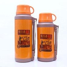 2L Edelstahl Thermos für Tee Wasserkocher Wasserflasche Isolierte Tassen Reisebecher Thermocup Isolierflaschen Thermoskannen