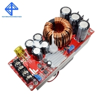 2017 Promotion 1500w 30a Dc dc Boost Converter Step up Power Supply Module In10~60v Out 12~90v New Electric Unit Modules
