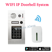 1.3MP Беспроводной Дверной Звонок Беспроводной IP Видео-Телефон Двери/Дверь Система Контроля Доступа с Беспроводной Дверной Звонок, пароль/APP ...