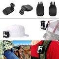 Sênior 360 Degree Rotary Mochila Chapéu Viagem Clipe Rápido Grampo Clipe Adaptador de montagem Mini Tripé Para GoPro Hero 2 3 + 4 Esporte câmera