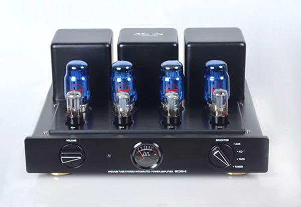Meixing mingda MC368-B HIFI tubo de vacío amplificador integrado Push-pull amp KT88 * 4 6N8*2 6N9*2 UL: 50 W * 2 TR: 35 W * 2