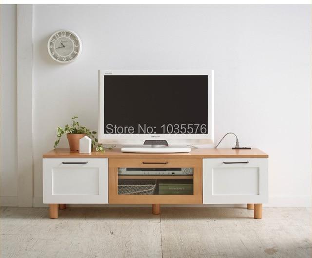 Mobili in legno porta tv tv in legno tavolo da salotto moderno