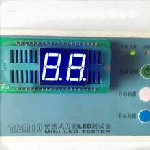 Livre o navio 10 pçs 0.56 polegada digital tubo ânodo 0.56 polegada 2bits tubo digital 10pin azul digital display led 0.56