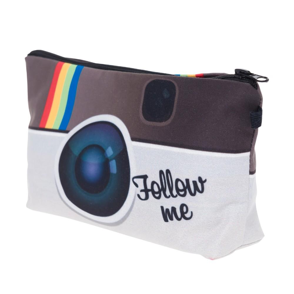 Instagram Follow Me Makeup Bag