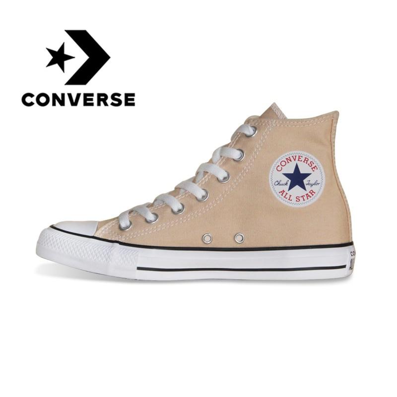 Chaussures de skate Converse d'origine nouveau classique unisexe haut Top toile confortable léger résistant chaussures