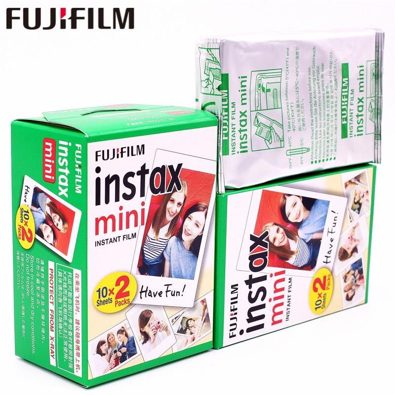 50 Feuilles Fuji Fujifilm Instax Mini 8 Film Blanc Films Pour Instax Mini 9 8 70 7 7 s 90 25 50 Partager SP-1 SP-2 Instant Photo caméra