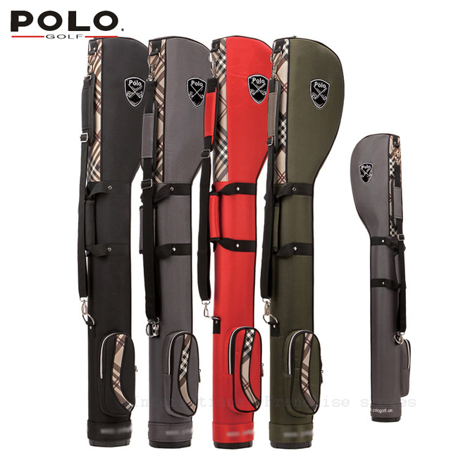 New Arriving Branded POLO New Golf pencil gun bag manufacturers Canvas Shoulder Bag Golf travel lady small gift sunny bag 128CM