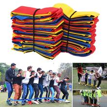 Cooperative Band Walker 5 Legged or 10 Legged Race Band Set Game Teamwork Training for Children Adult Pack of 2