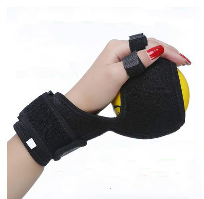 Anti-Spasticity Ball Splint Hand Functional Impairment Finger Orthosis Hand Ball Rehabilitation Exercise hand wrist orthosis separate finger flex spasm extension board splint apoplexy hemiplegia right left men women