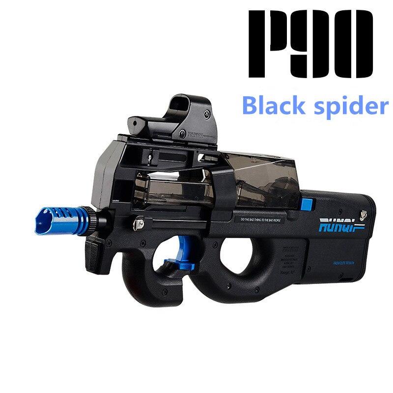 P90 jouet électrique PISTOLET balle en eau Éclate Pistolet CS Live D'assaut Snipe Arme En Plein Air Pistolet Jouets lepin - 3