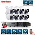 8CH 1080 p HDMI DVR 2000TVL 720 p HD Outdoor Überwachung Sicherheit Kamera System 8 Kanal CCTV DVR Kit AHD kamera Set Mit 2 tb HD|Überwachungssystem|Sicherheit und Schutz -