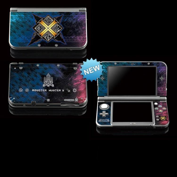 MHx De Protection Autocollant De Peau De Vinyle Pour Monster Hunter X  Autocollants Pour Nintendo NEW