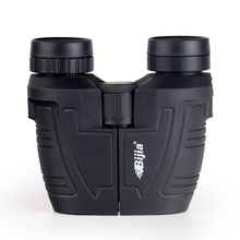 BIJIA 12x25 BAK4 Prism Porro Outdoor Binocular Professional Portable Binoculars Telescope For Hunting Sports Living Waterproof