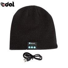 EDAL Hot New Soft Warm Beanie Hat Wireless Bluetooth Smart Cap Headphone