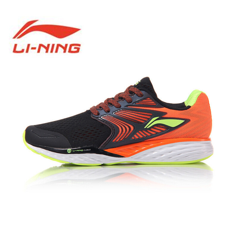 Li Ning Original Men's Shoes Cloud IV Professional Running Shoes Cushion Li Ning MONO YARN Sneakers Sports Shoes ARHM019 li ning original men sonic v turner player edition basketball shoes li ning cloud cushion sneakers tpu sports shoes abam099