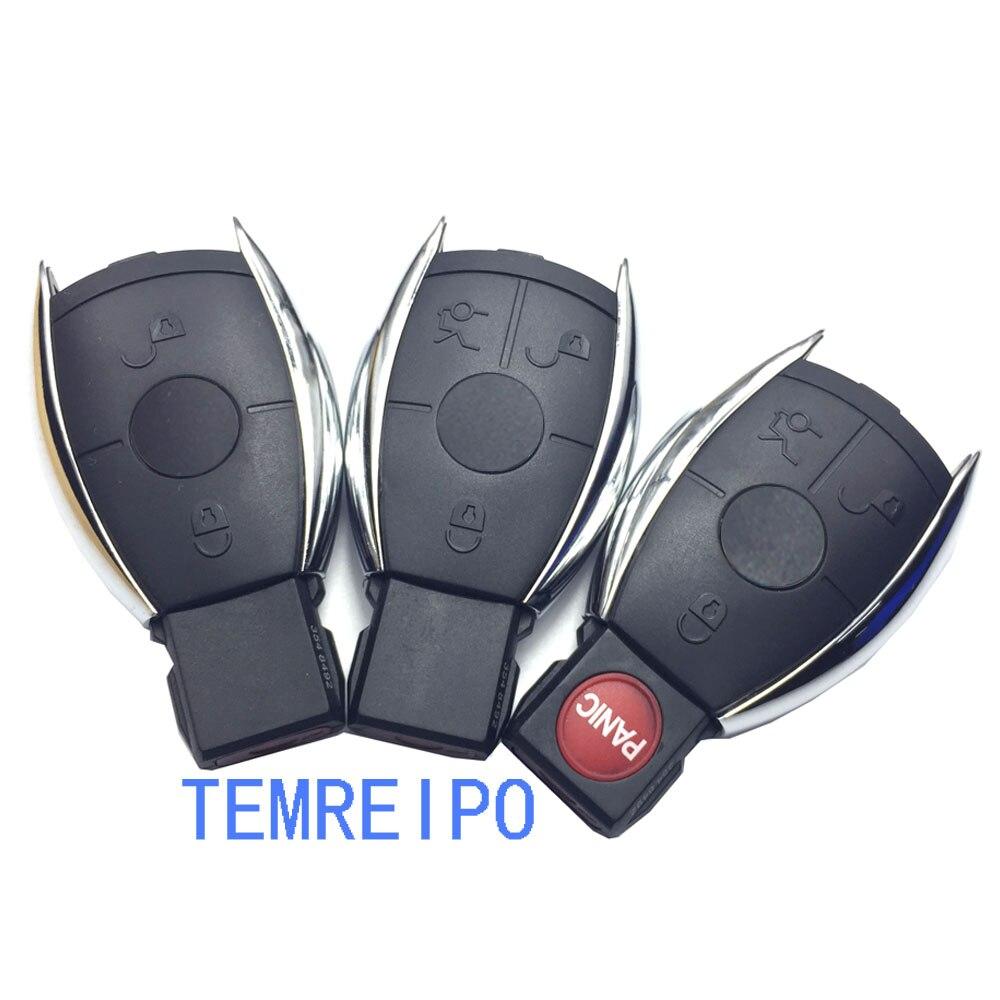 Ersatz Fernbedienung Schlüssel Shell Für Mercedes Benz W203 W210 W211 AMG W204 C E S CLS CLK CLA SLK mit logo