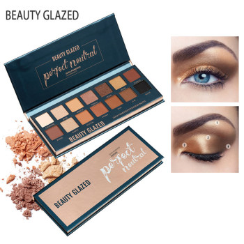 Smokey-Make-Up-Palette-Eyeshadow-Long-lasting-Pressed-Glitter